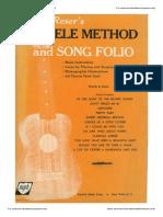 Harry Reser's Ukulele Method and Song Folio