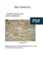 Rubble Masonry