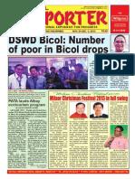 Bikol Reporter November 29 - December 5, 2015 Issue