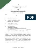 Gramiya Adal Padal Vizha Judgment by Madras High Court