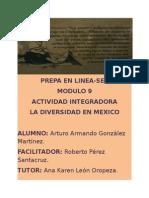 La Diversidad en México. Modulo 9