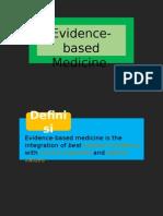 Evidence-based Medicine 1.1