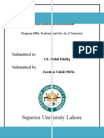 Cash Flow by Zeeshan Tufail Superior Uni Lhr