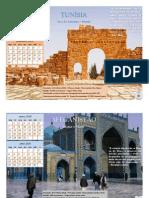 Calendário Missões Países 2016