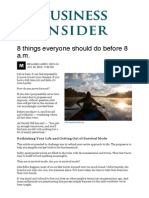8 things to do before 8 a.m. - Business Insider.pdf