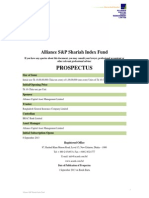 Alliance S&P Shariah Index Fund