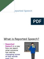 Reported Speech Materi n Drills