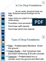 Deep Foundations