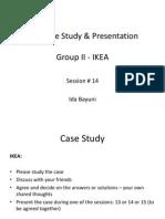 CSR #14 CSR Case Study & Presentation Group II