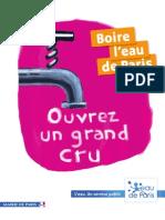 Guide Eau de Paris