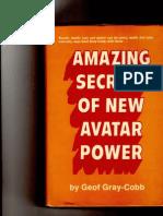 (Cobb G.G.) Amazing Secrets of New Avatar Power