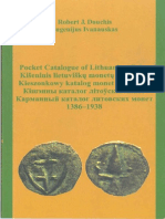 Pocket Catalogue of Lithuanian Coins 1386-1938