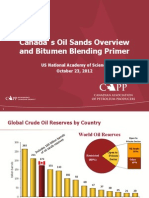 #Canada's Oil Sands Overview