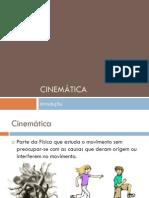 Cinemática introdução