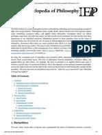 Internet Encyclopedia of Philosophy » E..