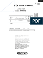 Onkyo HT-R570 Service Manual