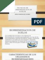 Tecnicas de Biorremediacion de Suelos