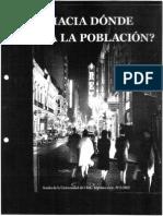 Roberto Aceituno Hacia dónde Va La Población