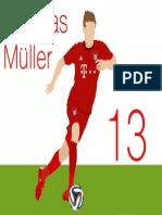 Thomas Müller Minimalist Image