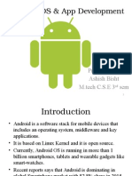 Android OS & App Development