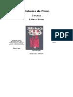Garcia Pavon, Francisco - Historias de Plinio
