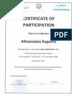 training certificates it