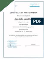 attendance certificates construction