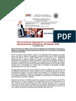 Jornada Contabilidad Gubernamental 2015 Sonora
