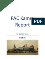 PAC Kamra Report