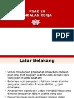 PSAK 24 Imbalan Kerja IAS 19 Employee Benefit 01062015