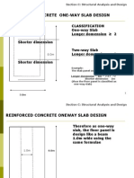 11. DESIGN Reinforced Concrete One-way Slab