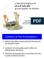 Paper 4 Dynamic Operating Regimes of Ball and Tube Mill