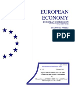 Impact of Market Entry and Exit onEU Productivity and Growth Performance