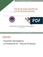 Fundamentos de Evaluación de Proyectos Tecnologicos