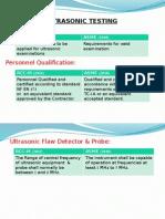 Comparison Slides for RCC-M & ASME