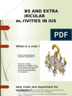 CLUBS AND EXTRA CURRİCULAR ACTIVITIES IN IUS.pptx