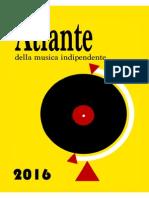 Atlante Della Musica Indipendente 2016