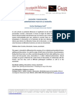 Rodriguez Sutil Escision y Disociacion CeIR V9N2