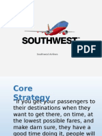 Southwest Airlines Co Strategic Planing
