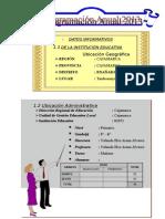 Institucion Educativa Estatal Cuaderno de Trabajo