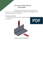 Perancangan Tingkat Detail Produk Satay Maker