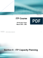 Section 6 ITP Capacity Planning