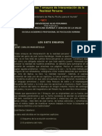 Resumen de Jose Carlos Mariategui