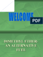 Dimethyl Ether Alternative Fuel