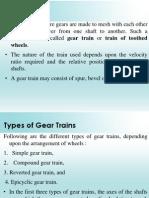 L Gear Trains