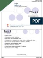 Conceptos de Bases de Datos Dip Gestión y Admón Pca UA