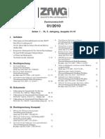 ZfWG Ausgabe 01 10 Index