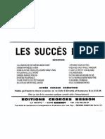 sheets-Editions Georges Besson - Recueil - Les Succès d'hier (16 Titres Connus).pdf