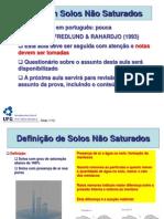 02 Capitulo 7B - Fluxo Nao Saturado (1)