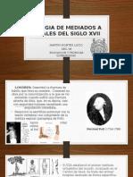 Cirugia de Mediados a Finales Del Siglo Xvii